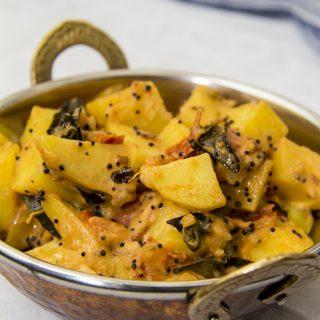 Kartoffel-Tomaten-Curry - Aloo Tamatar