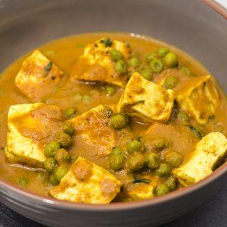 [indisch] Tofu Mattar - Erbsen-Curry mit Tofu