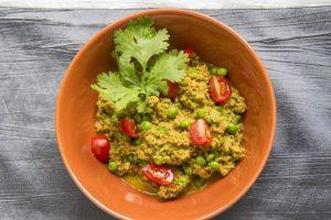 [indisch] Keema Mattar – würziges Lammhack-Curry mit Erbsen