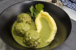 [indisch] Kofta Hara Masala – grünes Fleischbällchencurry