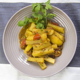 Gyanth Gobi - Kohlrabi-Kartoffelcurry