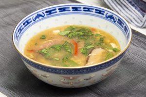 [chinesisch] Suan La Tang – sauer-scharfe Suppe