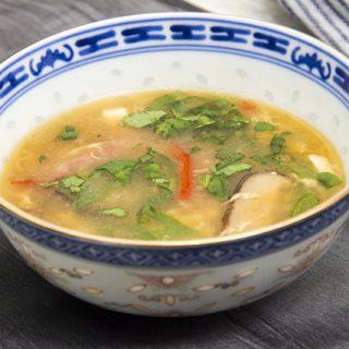 Suan La Tang - sauer-scharfe Suppe