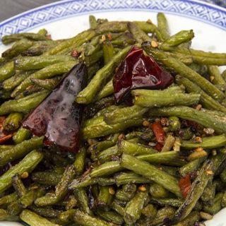 Trocken gebratene grüne Bohnen - Gan Bian Si Ji Dou