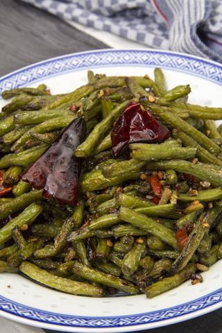 chinesische grüne Bohnen Rezept