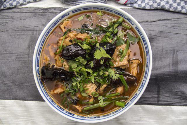 Shui Zhu Pork - Schweinefleisch in würziger Brühe