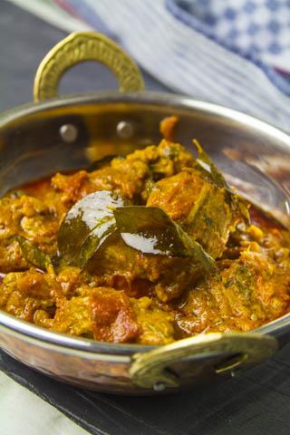 [indisch] Andhra-Lammcurry - zartes Lammfleisch in einer pikanten Sauce