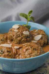 [indisch] Shahi Kofta Curry – Lammbällchen in feiner Tomaten-Sahne-Sauce