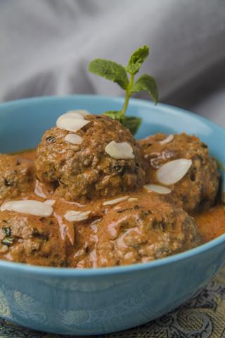 [indisch] Shahi Kofta Curry - Lammbällchen in feiner Tomaten-Sahne-Sauce