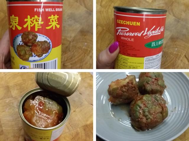 zhai cai - fermentierter Senfkohl
