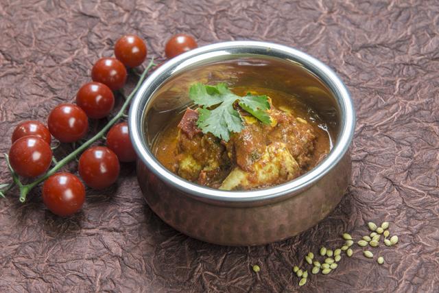 [indisch] Dhaniya Murgh - super einfaches Hähnchencurry mit Tomaten und Koriander