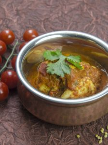 [indisch] Dhaniya Murgh – super einfaches Hähnchencurry mit Tomaten und Koriander
