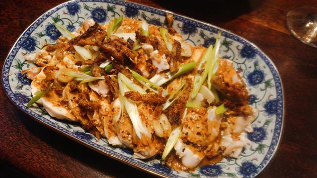 Scharfer Sichuan-Hähnchensalat - Bang Bang Ji Si, der Knaller in Tüten