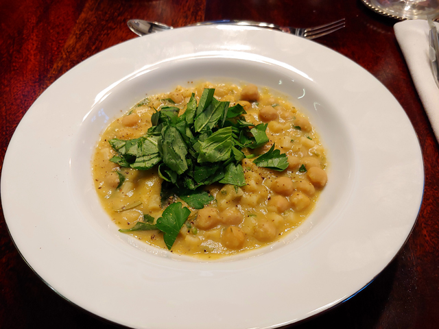 Pasta e ceci - Nüdelchen mit Kichererbsen, ist es Pasta oder doch eine Suppe
