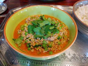 Shufta – ein Curry mit Lammhack und Erbsen aus Kaschmir, aromatisch vielfältig und überraschend