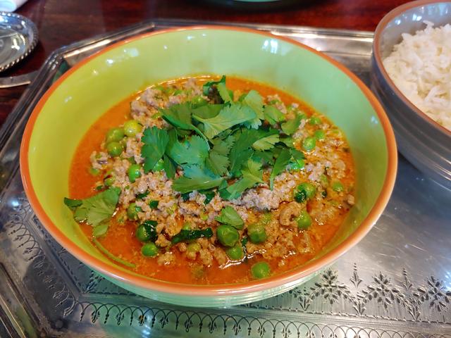 Shufta - ein Curry mit Lammhack und Erbsen aus Kaschmir