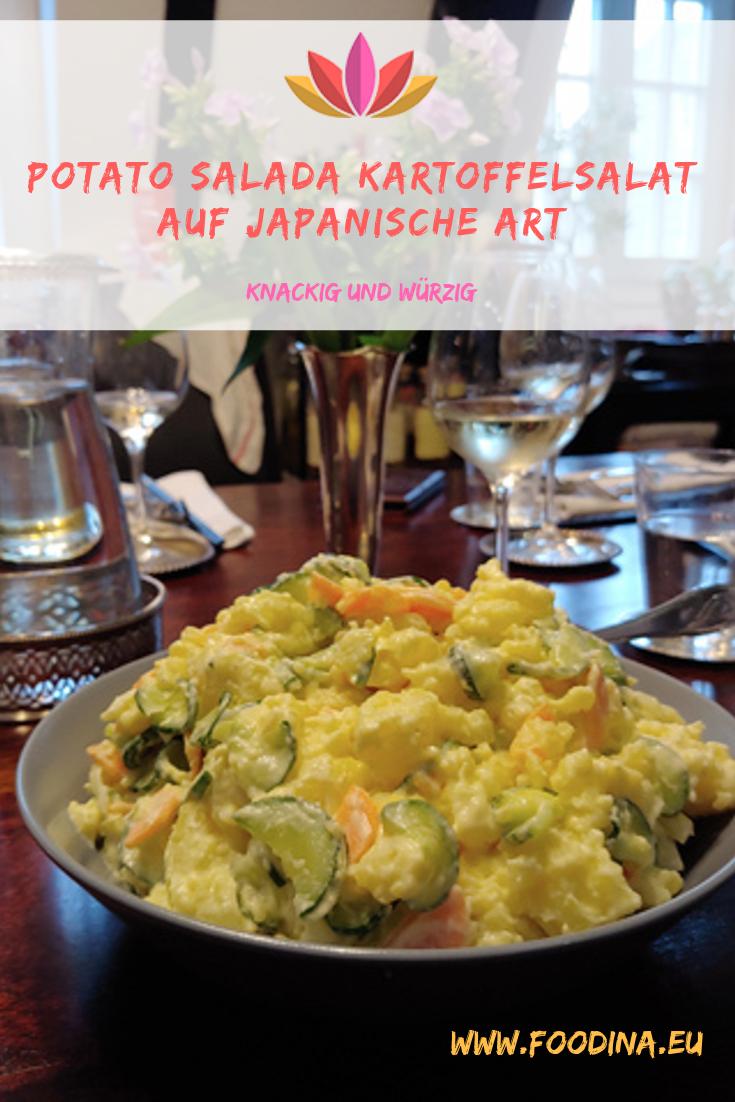 Potato Salada - Kartoffelsalat auf japanische Art, knackig und würzig